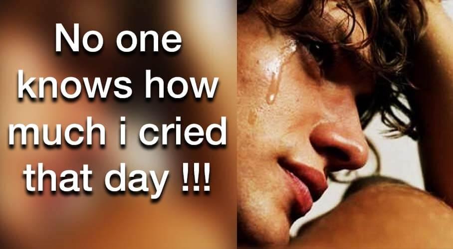 i-cried