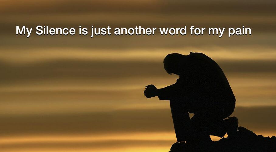 silence-pain